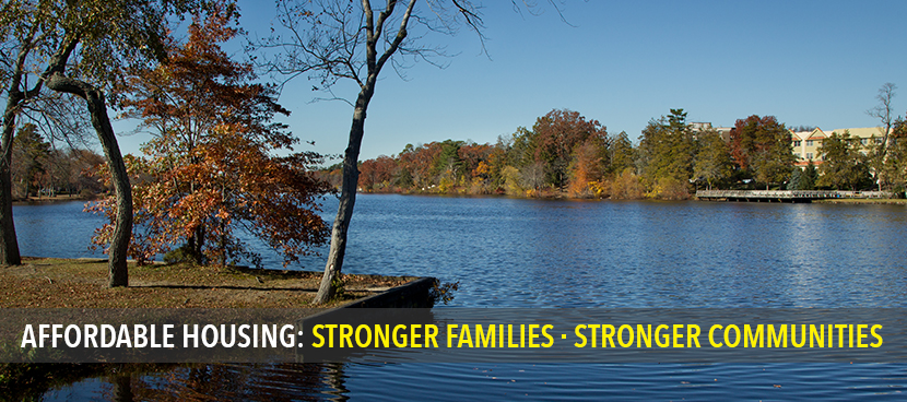 AFFORDABLE Housing - STRONGER families  STRONGER Communities